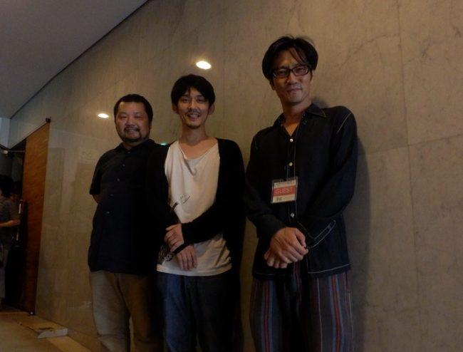 左:木川さん 中央:松林さん 右:津田監督