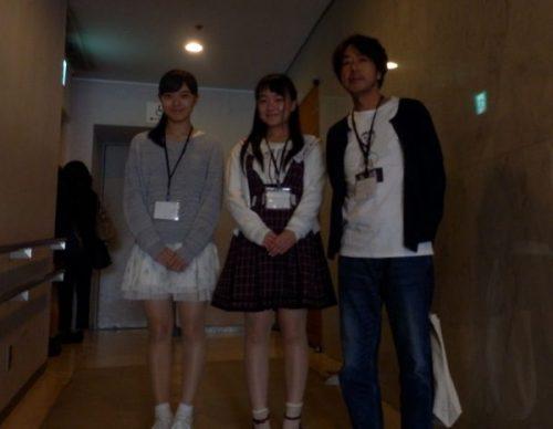 左:村田さん 中央:村本さん 右:長澤監督