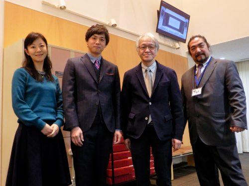 左から 長谷川さん 高杉さん 井上監督 加藤さん