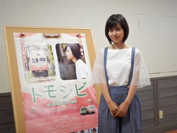 上映終了後の1枚 松風理咲さん