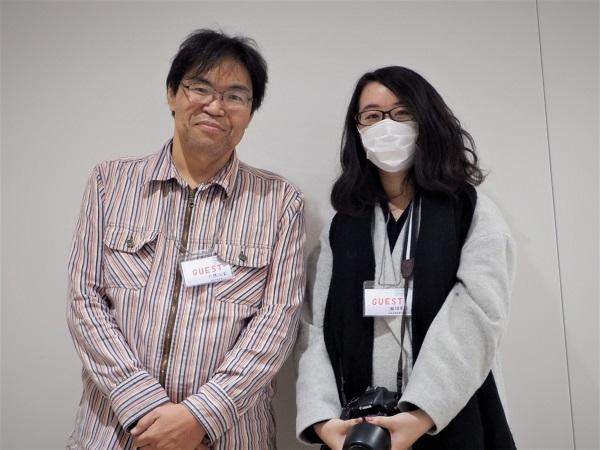 左:プロデューサー 大橋さん  右:下松FC 瀬畑さん