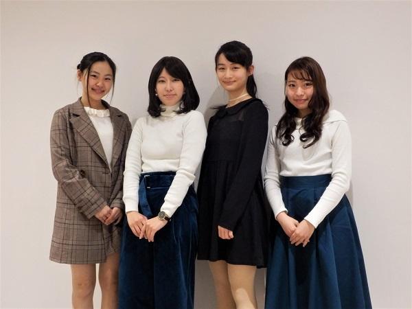 名古屋市立大学芸術工学部映像研究室のみなさん