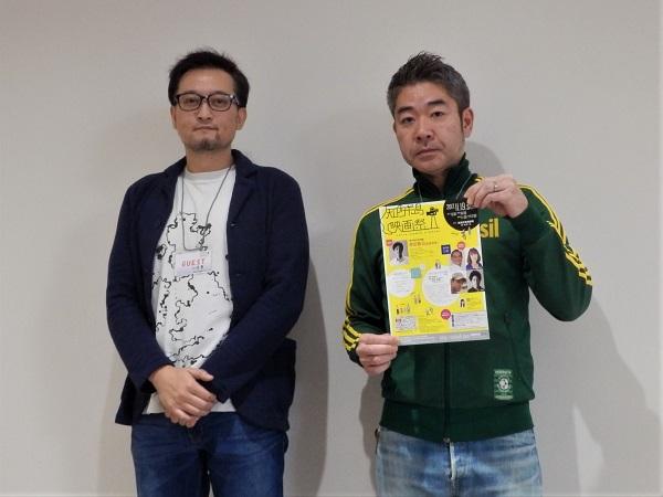 左:水落豊監督 右:松尾プロデューサー