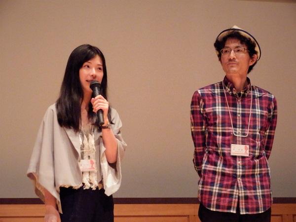 (左)大須みづほさん (右)佃尚能監督