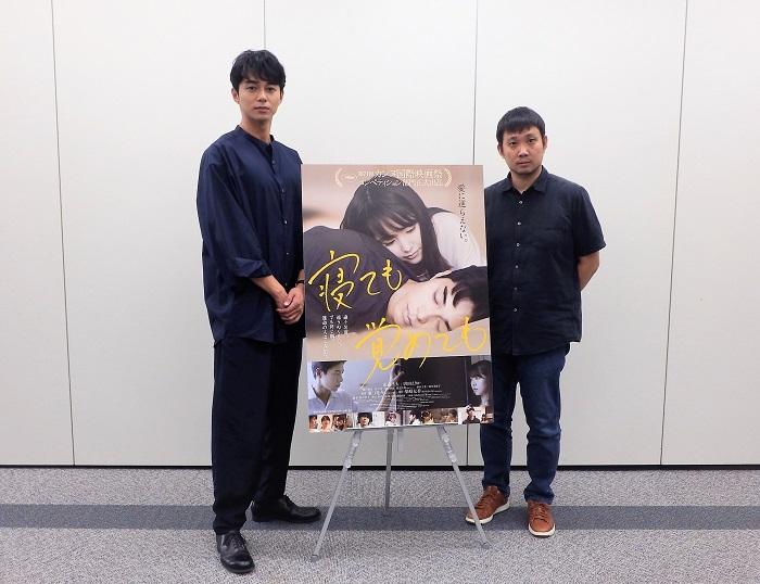 左:東出昌大さん 右:濱口竜介監督