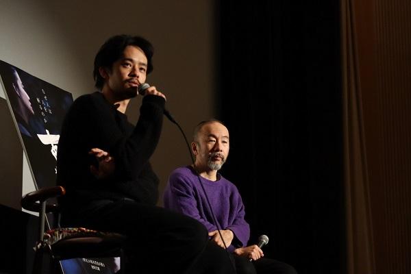左:池松壮亮さん 右:塚本晋也監督