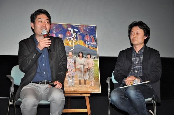 左:弓手研平さん 右:塩崎祥平監督
