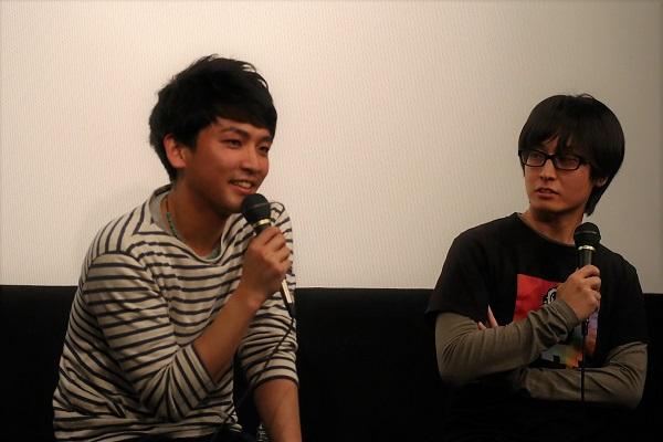 左:小野優樹さん、右:下向拓生監督