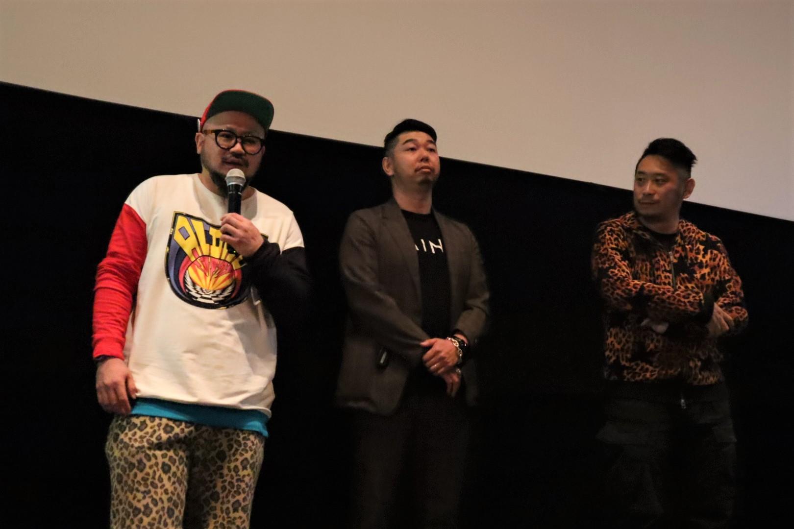 左:小山亮太監督 中央:辻村健二監督 右:東海林毅監督